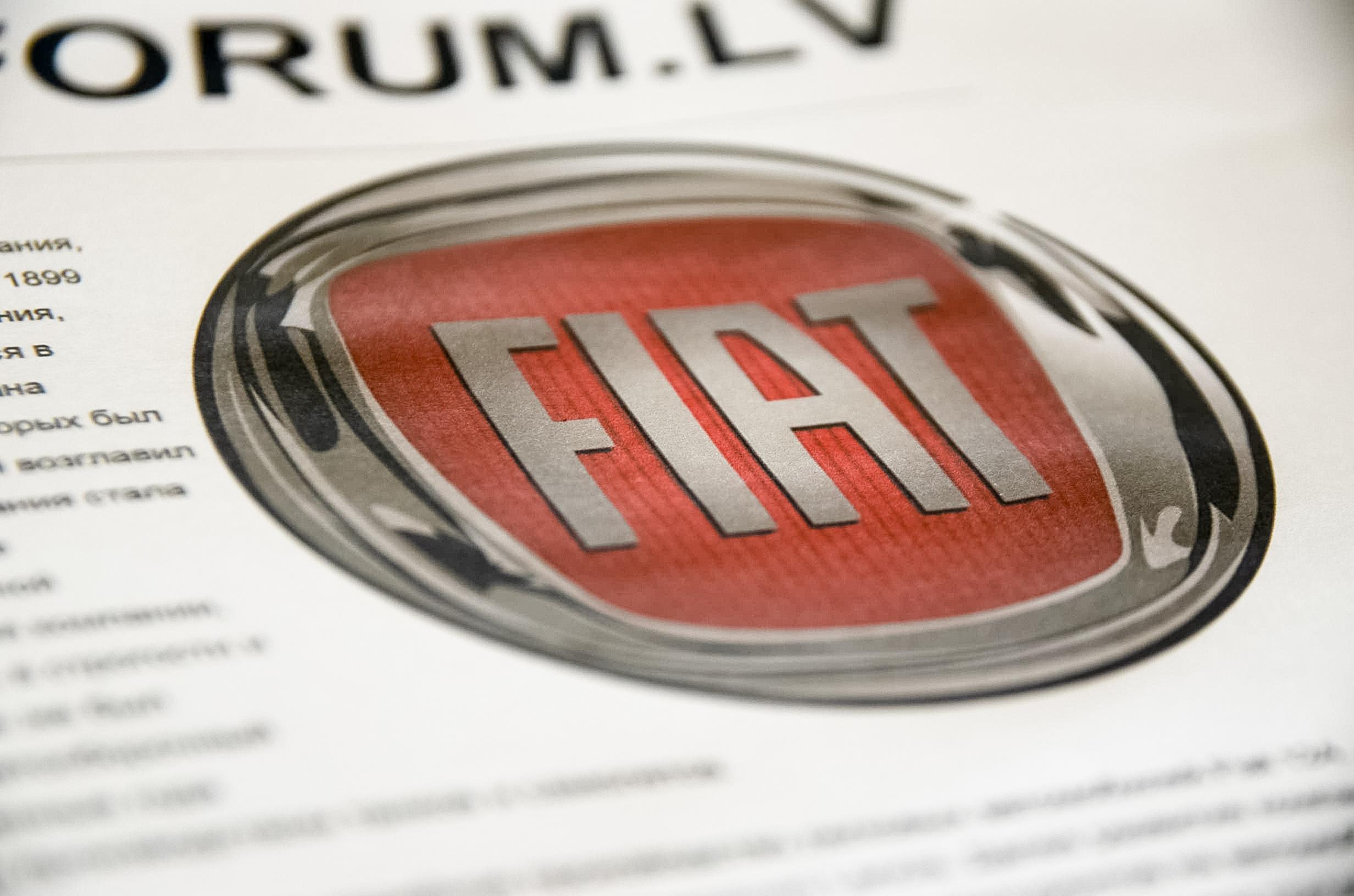 Fiat авто новости